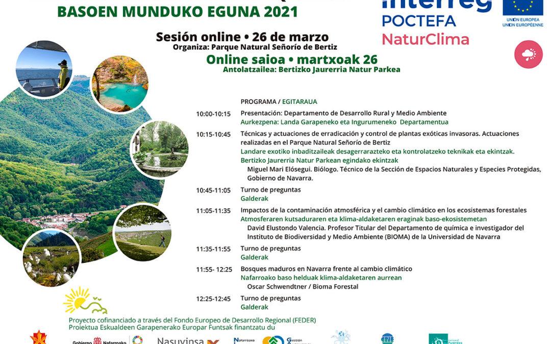 Seminario online sobre el Día Internacional de los Bosques