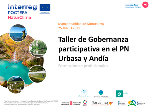 Taller de Gobernanza Participativa en el PN Urbasa y Andía
