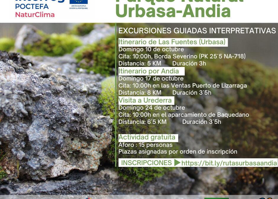 Nuevas rutas guiadas en el Parque Natural de Urbasa-Andia