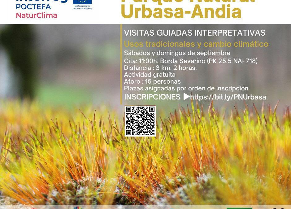 Ingurumen arloko sentsibilizazio eta hezkuntza jarduerak Urbasa-Andiako Parke Naturalean